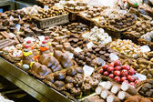 Catalan chokolate on vendor — Stock Photo