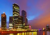 Moscow Business Center (Moscow-City) — Stock Photo