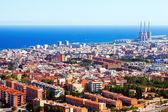 Mediterranean city. Badalona, Catalonia — Stock Photo