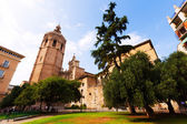 Micalet tower and Cathedral. Valencia, Spain — Stock Photo