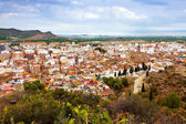 Panoramic view of Sagunto. Spain — Stockfoto