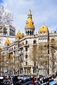 Pons houses. Barcelona — Stock Photo