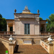 Stock Photo: Neoclassical pavilion at Labyrinth Park of Horta