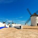 Windmills in Campo de Criptana. Spain — Stock Photo #38414241