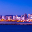 Sant Marti district from sea side. Barcelona — Stock Photo