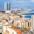 Day view of Barcelona seaside — Stock Photo