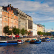 Stock Photo: View of St. Petersburg. Fontanka River