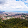 View of Outskirt districts in Barcelona — Stock Photo