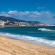 Stock Photo: Seaside in Badalona. Catalonia