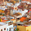 Roofs of ordinary spanish town — Stock Photo #38415325