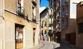Street of european city. Pamplona — Stockfoto