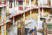 Construction work site — Stock Photo