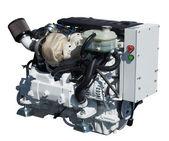Engine. Isolated over white — Stock Photo