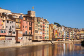 Girona in sunny day. Catalonia — Photo
