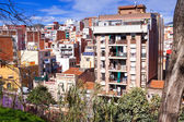 View of ordinary european city. Spain — Stock Photo