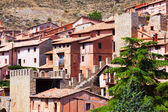 Picturesque residence houses in Albarracin — Stock Photo