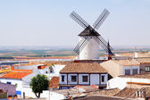 Windmill in town. Campo de Criptana — Stock Photo