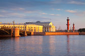 View of Saint Petersburg in summer morning — Stock Photo