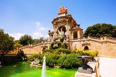 View of Barcelona, Parc de la Ciutadella — Stock Photo