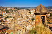 Top view of Cardona from castle — Stock Photo