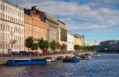 St. petersburg görünümü. Fontanka Nehri — Stok fotoğraf