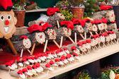 Tio de Nadal sale — Stock Photo