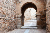The gate in the walls. Toledo, Spain — Stock Photo