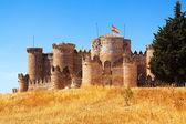 Mudejar castle in Belmonte — Stock Photo