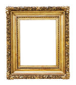 Oude bronzen frame — Stockfoto