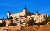 Alcazar of Toledo in sunny summer day — Stock Photo