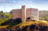 Castle in Gaibiel on sunny summer day — Stock Photo