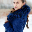 Winter portrait of woman — Stock Photo #38561237