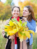 Mature woman with adult daughter — Stock Photo