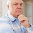 Stock Photo: Wistful grizzled man