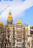 Casas del puente de varolio. barcelona, españa — Foto de Stock