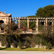 Detail enclosure access to Royal Palace of Pedralbes — Stock Photo #40790615