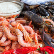 Fresh uncooked sea food specialties — Stock Photo #40790967