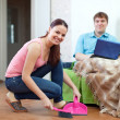 Married couple at home — Stock Photo #40792175