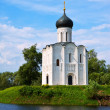 Church of Intercession on River Nerl — Stock Photo #40792363