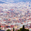 Stock Photo: Top view of Barcelonfrom Montjuic