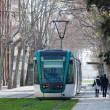 Ordinary tramway in Barcelona — Stock Photo #40795015
