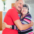 Happy mature couple together — Stockfoto