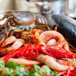 Still life with uncooked seafoods — Stock Photo #40795349