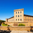 Aljaferia Palace at Zaragoza. Aragon — Stock Photo
