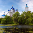 Orthodoxy monastery at Bogolyubovo — Stock Photo #40795891