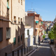 Stock Photo: Hilly picturesque streets of Badalona