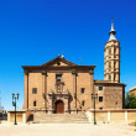 Summer view of Zaragoza. Aragon — Stock Photo #40796723