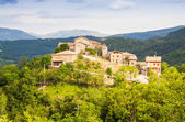 Village in Pyrenees. Seniu, Huesa — 图库照片