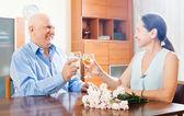 Romantyczne spotkanie — Zdjęcie stockowe
