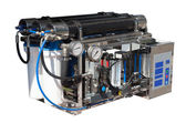 Reverse osmosis system. Isolated over white — Stockfoto